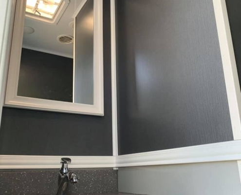 Luxury Porta Potty Vanity and Sink