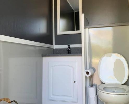 Luxury Porta Potty Women's Room